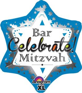 Anagram Bar Mitzvah Balloon