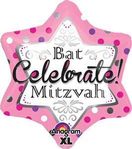 Anagram Bat Mitzvah Balloon