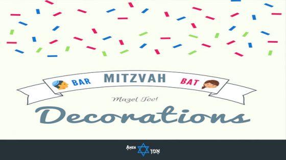25 Unique Bar Bat Mitzvah Decorations Centerpieces Ideas 2019 Amen V