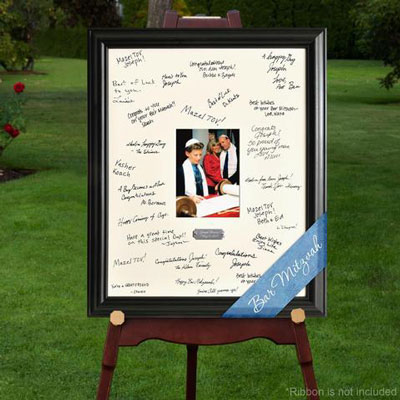 Bar Bat Mitzvah Signature Frame