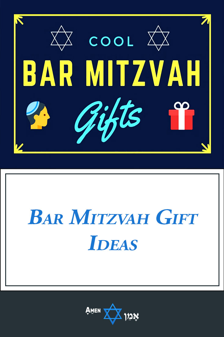 20+ best bar mitzvah gift ideas for a 13 year old boy (2018) - amen