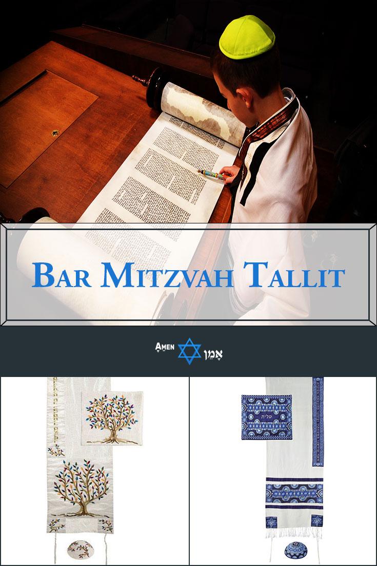 Bar Mitzvah Tallit Large
