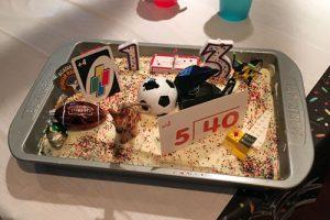Historic 13th Birthday Cake