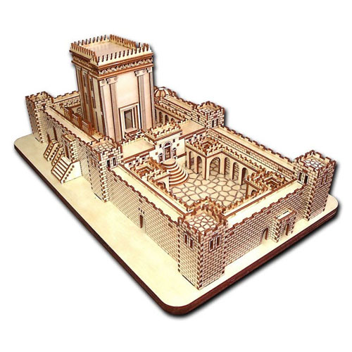 Jerusalem Second Temple Laser Cut Do It Yourself Kit