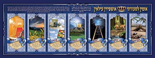 Laminated Ushpizin Poster