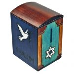 Shalom Dove Tzedakah Keepsake Box