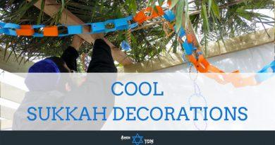 Sukkah Decorations