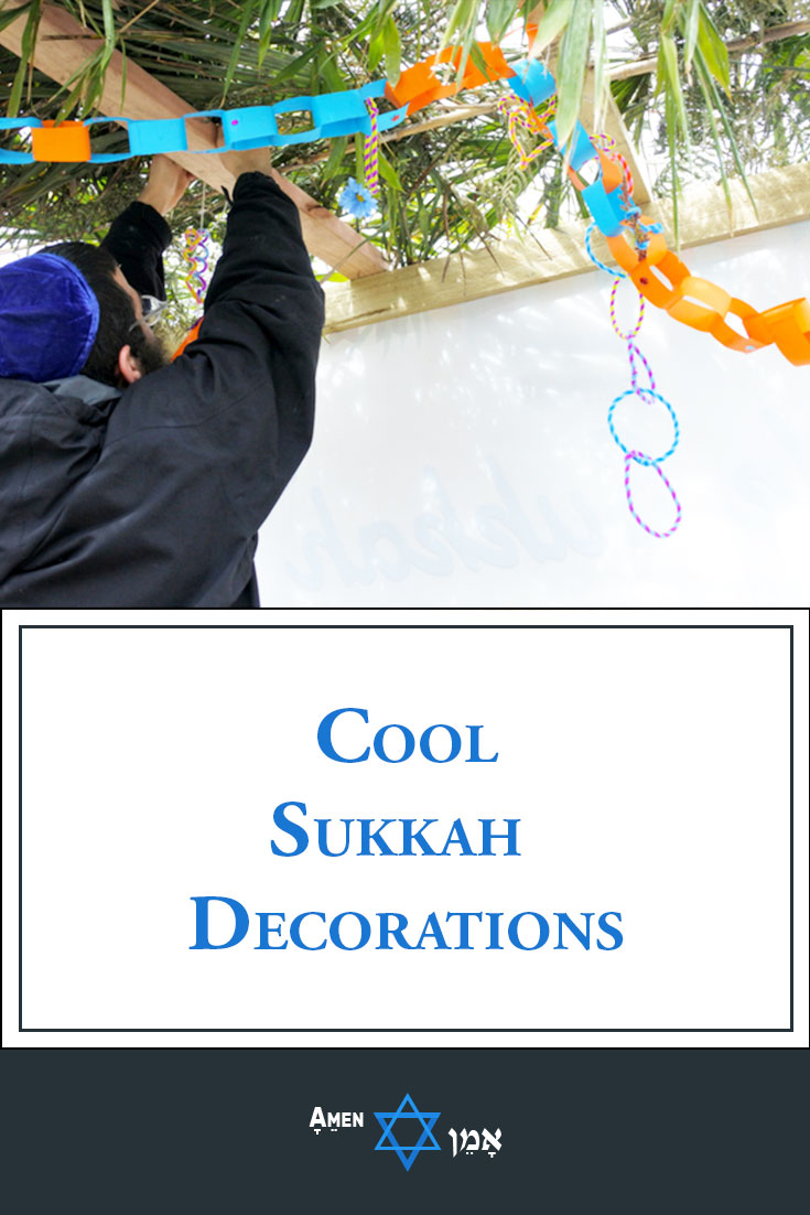 Sukkah Decorations Large