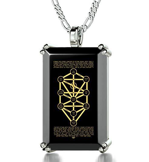 Tree Of Life Kabbalah Necklace