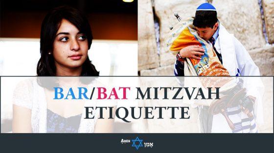 Bar Bat Mitzvah Etiquette 2