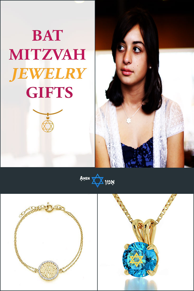Bat Mitzvah Jewelry Gifts Large