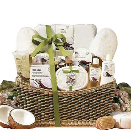 Epitome Of Luxury Spa Basket