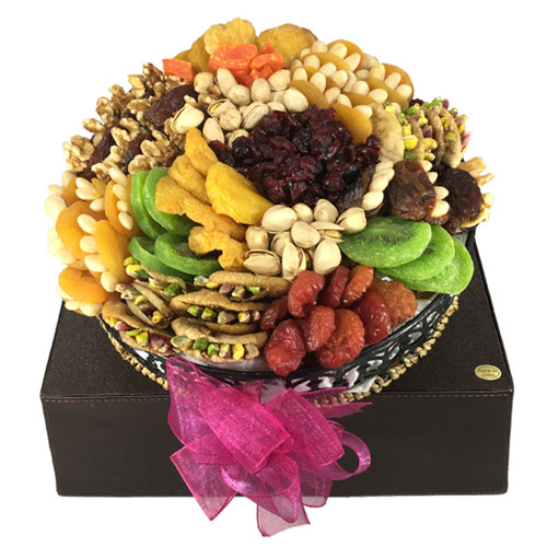 Kosher Certified Tropical Dried Fruit & Nut Spectacular