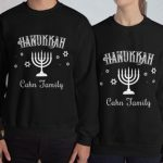Personalized Family Hanukkah Sweatshirts