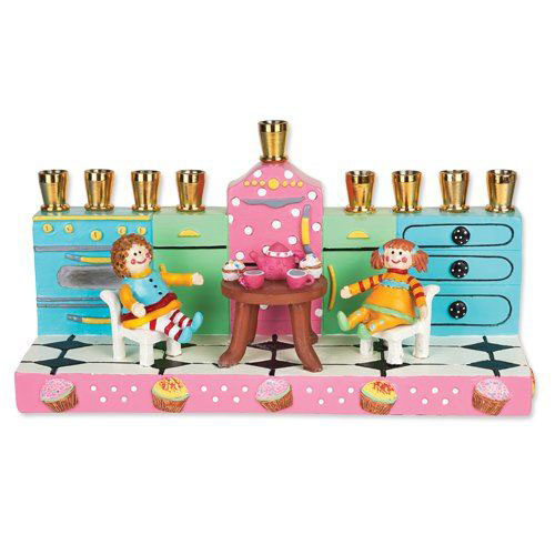 Tea Party Menorah