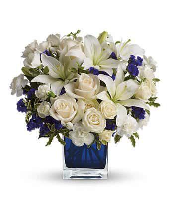 Clear Blue Skies Bouquet