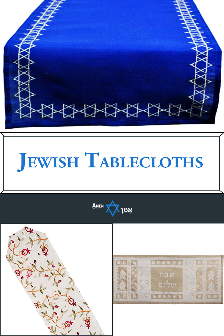 Jewish Tablecloths Large