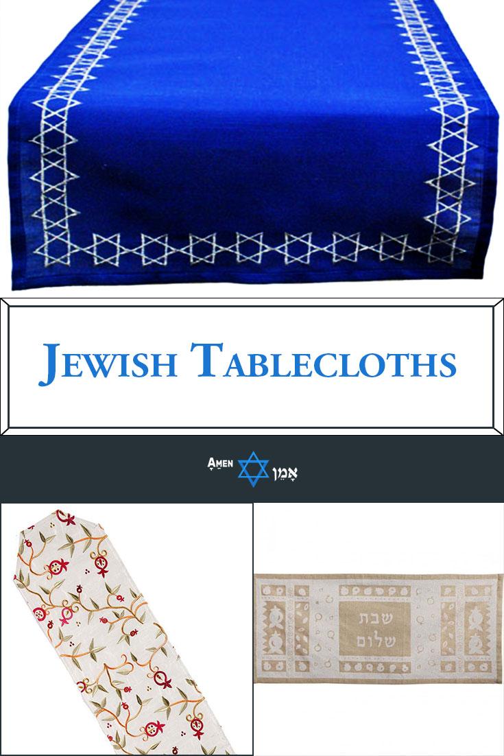 Jewish Tablecloths Large