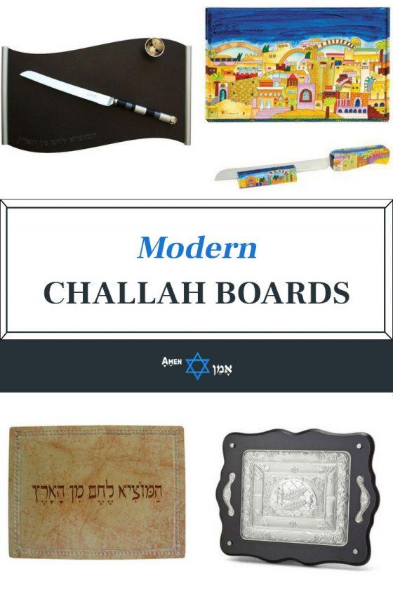 Modern Challah Boards