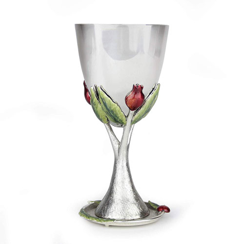 Quest Pomegranate Kiddush Cup