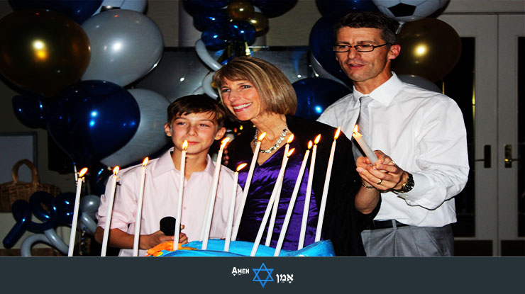 Bar Bat Mitzvah Candle Lighting 2