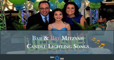 Bar Bat Mitzvah Candle Lighting Songs