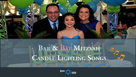 Bar Bat Mitzvah Candle Lighting Songs