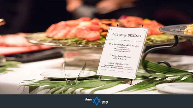 Bar Bat Mitzvah Food Stations