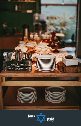 Bar Mitzvah Buffet Table