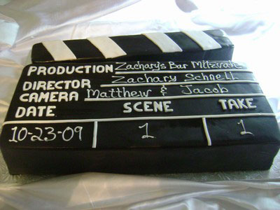 Bar Mitzvah Hollywood Cake