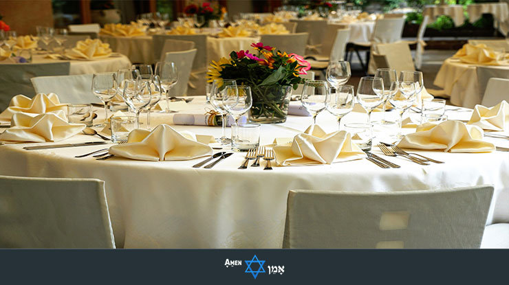 Bar Mitzvah Plated Service