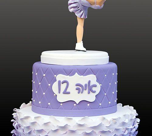 Bat Mitzvah Dancer Cake