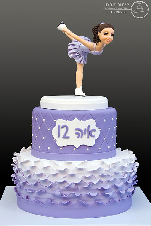 Bat Mitzvah Dancer Cake