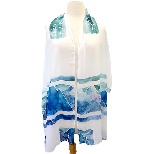 Bat Mitzvah Mountain Tallit