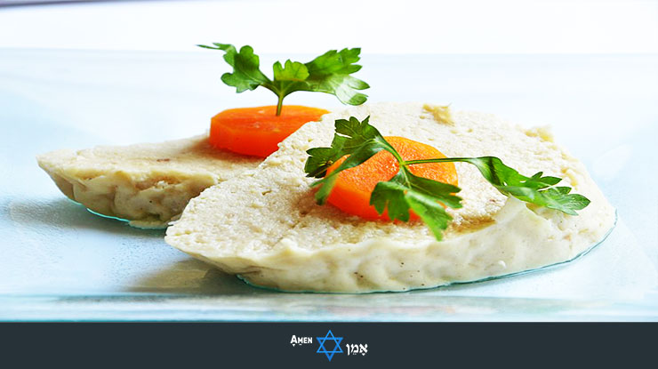 Kiddush Luncheon Gefilte Fish