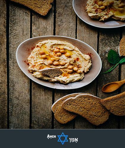 Kiddush Luncheon Hummus