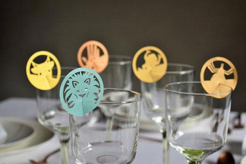 10 Plagues Wine Glass Decor