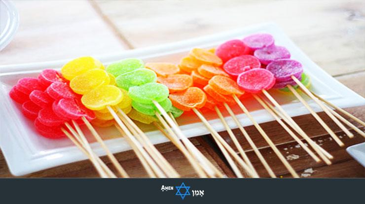 Candy On Sticks