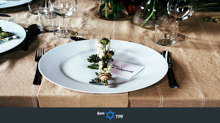 Decorative Flower On Plate