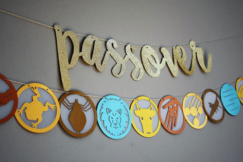 Passover 10 Plagues Banner