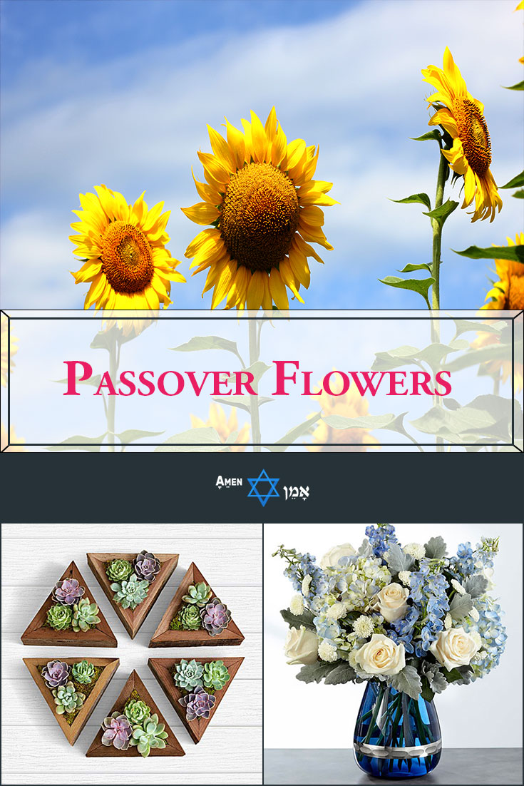 Passover Flowers Large