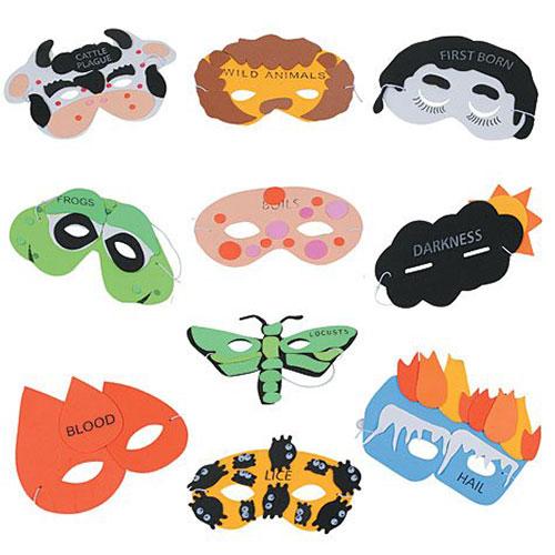 Passover Plague Masks