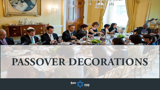 Passover Seder Decorations