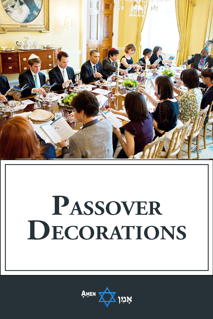 Passover Seder Decorations Large