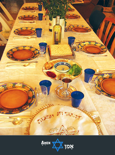 Passover Seder Table 2