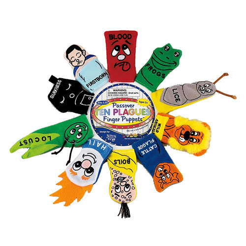 Plush Passover Finger Puppets