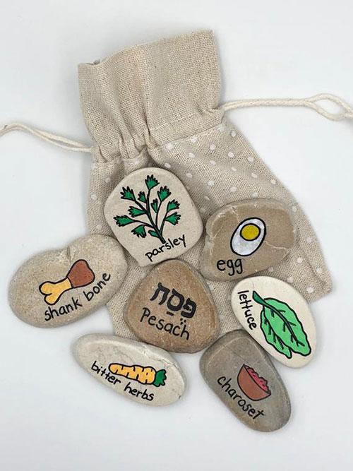 Seder Meal Story Stones