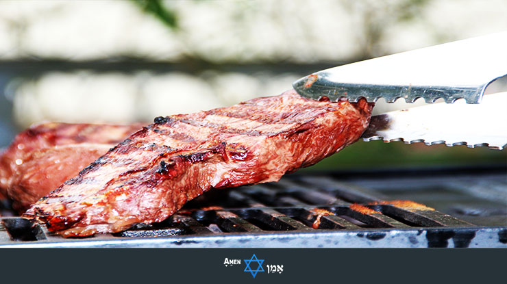 Beef Steak Barbecue Grill