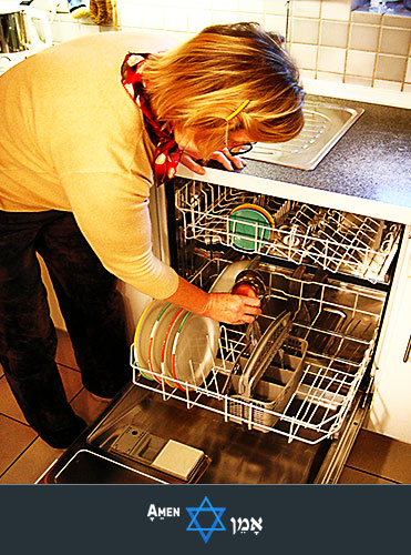 Clean Dishwasher Passover