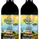 De La Rosa Real Foods & Vineyards Kosher Organic Austrian Red Grape Juice